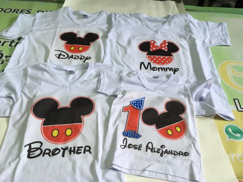 Camisetas, Sueter Sublimado. Personalizado