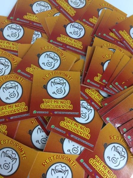 Stickers en Adhesivo – Publicidad