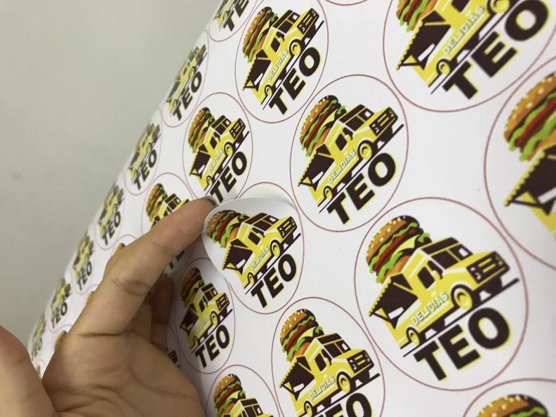 Stickers Redondos Troquelados