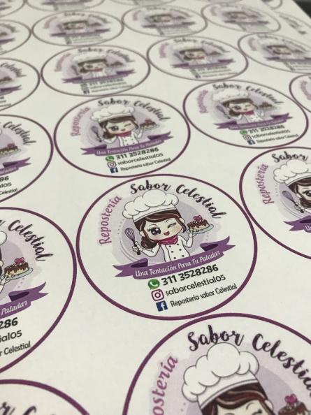Stickers personalizados – Sabor Celestial